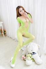 8813 hot Sexy Lady Crotchless Fish Net Body Stocking Bodysuit Lingerie Nightwear