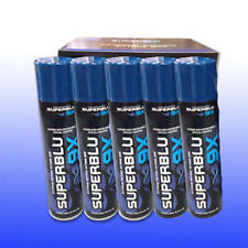 Pack of 5 300ml SuperBLU 9X Refined Butane Gas With 5 Adaptive Nozzle Heads