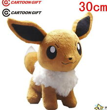 "New Pokemon 12"" EEVEE Rare Plush Stuffed Soft Toy Doll Kid Xmas Gift Lovely 30CM"