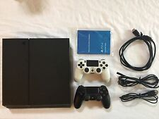 Sony PS4 500GB Video Game System Console CUH-1215A With Two Wireless Controllers