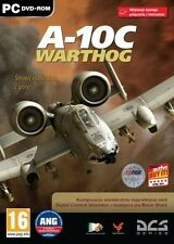 DCS A-10C WARTHOG PC DVD NEW SEALED ENGLISH