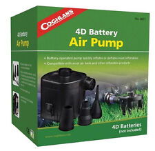 Coghlans Rechargeable Air Pump Inflatable Mattress Ultra Raised Air Bed Pumps 4D