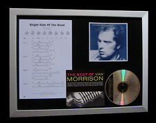 VAN MORRISON Bright Side Road QUALITY MUSIC CD FRAMED DISPLAY+FAST GLOBAL SHIP
