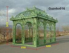 CAST IRON VICTORIAN STYLE GARDEN ESTATE GAZEBO #16A