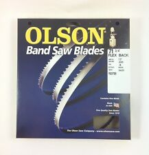 """Olson Band Saw Blade 71-3/4"""" to 72"""" x 1/2"""", 3TPI for Delta 28-140 & others, USA"""