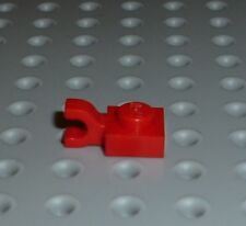 LEGO - PLATE, Modified 1 x 1 with Clip Horizontal, RED x 8 (6019) PM8