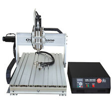 USB Mach 3 Three 3 axis 6040 2200W CNC router engraving milling machine desktop