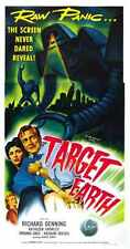 Target Earth Poster 02 Metal Sign A4 12x8 Aluminium