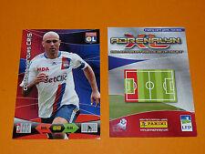 CRIS OLYMPIQUE LYON OL FOOTBALL FOOT ADRENALYN CARD PANINI 2010-2011