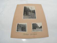 Fotos antiguas del Construcción de pozos Perforación profunda Schleiz Goerkwitz