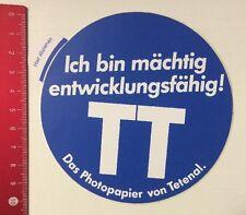 Aufkleber/Sticker: TT - Photopapier Von Tetenal - Mächtig Entwicklung (21031685)
