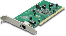 TRENDnet 1-Port 64-bit 10/100/1000Mbps Copper Gigabit PCI Adapter - TEG-PCITXM2