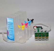 EMPTY Sublimation ink system cis CISS for epson WF-2660 2F-2650 printer T220