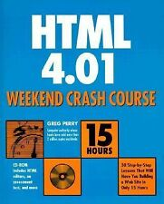 HTML 4.01 Weekend Crash Course (With CD-ROM)