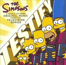 The Simpsons - Testify : More Music From the Television Series (CD) NM