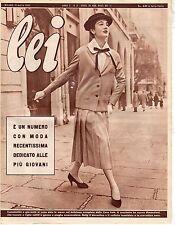 rivista LEI ANNO 1955 NUMERO 11