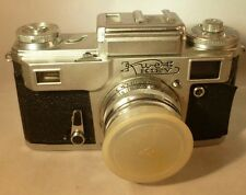 Russian Kiev Rangefinder Camera 7440668 with 2/50 lens 7458882 very good