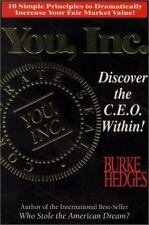 NEW - You, Inc. - Discover the C. E. O. Within! by Hedges, Burke