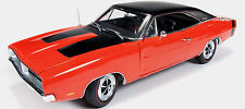 1969 Dodge Charger R/T Hemi-Orange 1:18 Auto World 1026