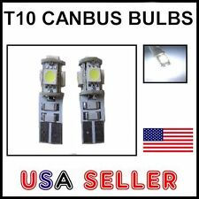 2x White 5-SMD LED Parking Eyelid Lights Bulbs - Error Free - taillights corner