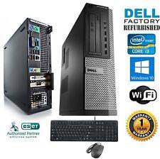 Dell Computer Core i3-2120 SFF DESKTOP 3.10Ghz 4Gb Ram 250Gb Windows 10 HP64