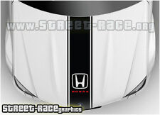 Bs1202 HONDA COFANO RACING strisce grafica decalcomanie adesivi CIVIC ACCORD CRV