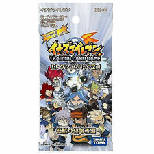 TAKARA TOMY INAZUMA ELEVEN IER-02 TRADING CARD GAME TCG 5CARDS BOOSTER PACK