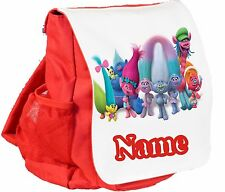 TROLLS SMALL CHILDS RED BACK PACK