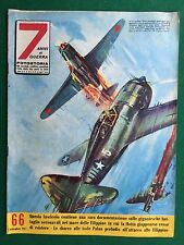 Rivista/Magazine 7 ANNI DI GUERRA n.66/1957 (ITA) FOTOSTORIA - MARE FILIPPINE