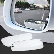 2PCS 360° Wide Angle Universal Car Auto Convex Rear Side View Blind Spot Mirror