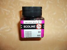 COLORE ECOLINE 30 ml MAGENTA 337  by TALENS  cod.4198