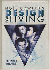 """Rachel Weisz & Rupert Graves """"Design for Living""""  Playbill  London 1995"""