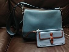 Lot Of 2 Authentic Coach Women's Shoulder HandBag Purse Leather Bag & Wallet