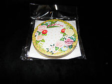 Mary Engelbreit Floral Design Paper Coasters - Set of 6 - New in Package