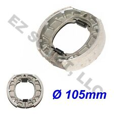 REAR DRUM BRAKE SHOE PAD 105mm GY6 4STROKE CHINESE SCOOTER ATV 50-150cc TAOTAO