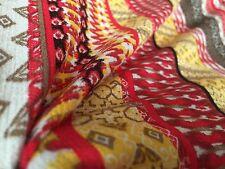 Cotton Viscose Fabric - 'Hacienda' - Cotton Viscose Print Fabric