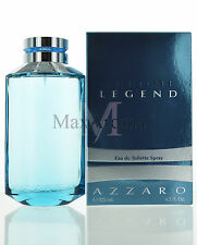 Chrome Legend by Loris Azzaro for Men Eau De Toilette 4.2 oz 125ml Spray