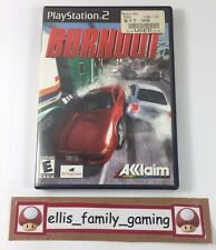 Burnout 1 Sony PlayStation 2 PS2 2001 Complete - Works Great - Ships Fast