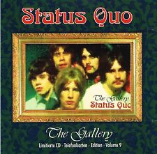 (CD) Status Quo - The Gallery - Pictures Of A Matchstick Man, Ice In The Sun