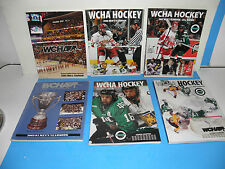NCAA WCHA College Hockey's Premier Conference Six Pack Yearbooks