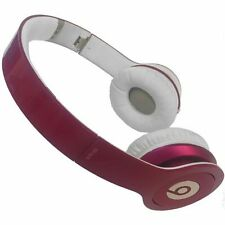 Beats by Dr. Dre Solo HD Glossy Pink On Ear Headphones SHIP FREE