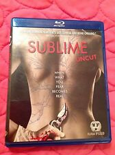 SUBLIME UNCUT BLU-RAY 2007 PSYCHOLOGICAL HORROR THRILLER MOVIE