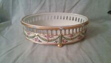 ANTIQUE FRENCH DELVAUX RUE ROYALE PORCELAIN PLANTER.