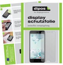 2x HTC U Play Protector de Pantalla protectores mate dipos