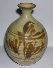 Studio Pottery - Large Posy Vase - 16.5cm tall - Potter Unknown - EXC COND.