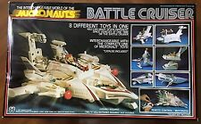 Micronauts 1977 Mego Battle Cruiser w/Original,Instructiona,Box,Stickers,Inserts