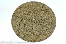 NEW - CORK TURNTABLE PLATTER MAT - ANTI-STATIC / AUDIOPHILE / PHONO - SLIPMAT
