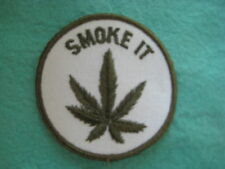 "Vintage Smoke It Patch 3 "" X 3 """