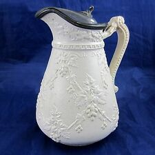 Antique English Pottery Staffordshire Stoke on Trent Baxter,Rowley&Tams Pitcher