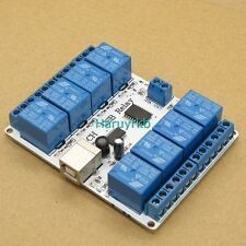 pc computer USB 8 Channel 12v Relay Module For switching devices DC motors light